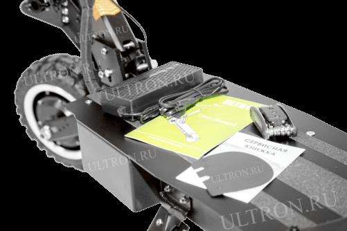 Электросамокат ULTRON T108 3200W (60V/30AH) v. 2020