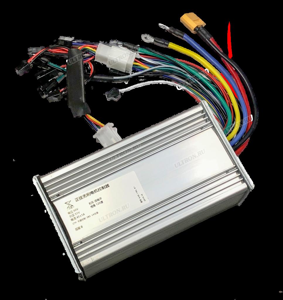 Контроллер синусный 60V/45A для T11, T108, T118, T128 (v. 2020)